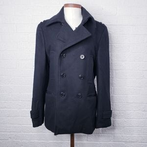 H&M wool peacoat size 6